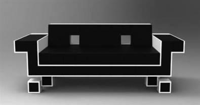 CANAPE DESIGN PAS CHER Canapes Convertible Dangle Cuir - Canapé design contemporain