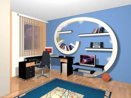Pin chambre ado design homedesign on pinterest for Chambre adolescent