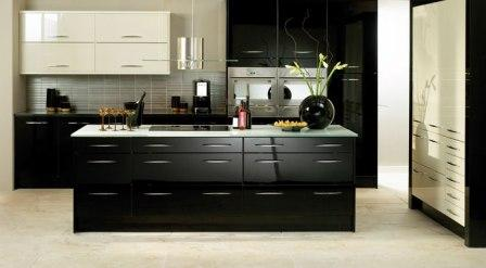 cuisines design pas cher cuisines modernes equipees contemporaines amenagees de luxe design. Black Bedroom Furniture Sets. Home Design Ideas