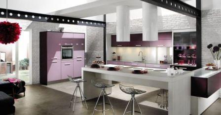 cuisines design pas cher cuisines modernes equipees contemporaines amenagees de luxe design. Black Bedroom Furniture Sets. Home Design Ideas