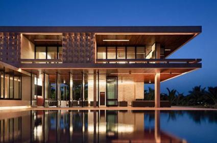 Maison design appartement de luxe pas cher for Architecture japonaise contemporaine