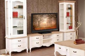 meuble tv design pas cher meuble tv bois blanc noir. Black Bedroom Furniture Sets. Home Design Ideas