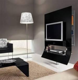MEUBLE TV DESIGN PAS CHER !!! Meuble tv blanc noir italien laque ...