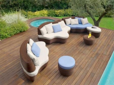 Meubles de jardin mobilier patio design pas cher for Arredamento giardino usato