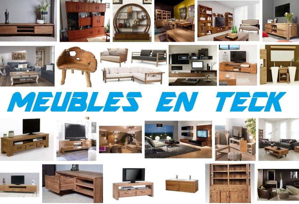 Meubles en teck design pas cher meubles bois massif - Meubles salon pas cher ...