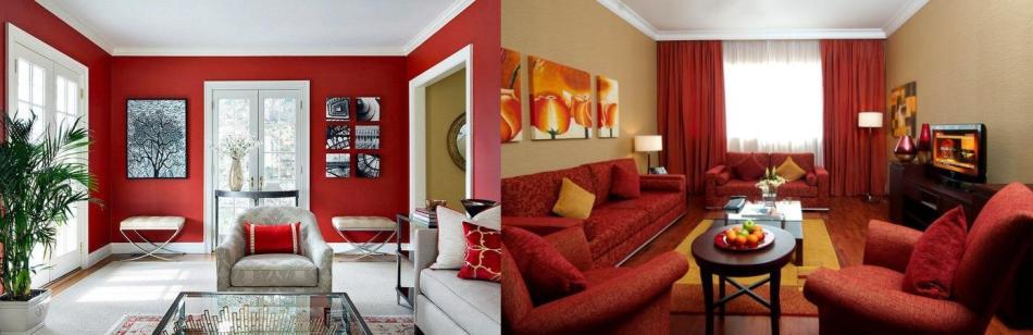 Meubles mobilier rouge design pas cher meuble en bois laqu moderne salon salle a manger de - Meuble moderne rouge ...