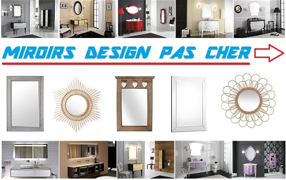 miroirs design pas cher miroirs design rectangulaire. Black Bedroom Furniture Sets. Home Design Ideas