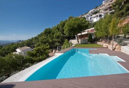 piscine design contemporaine pas cher photos transat