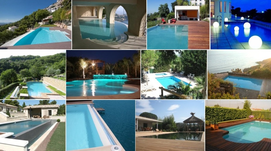 Piscine design contemporaine pas cher photos transat for Mobilier terrasse pas cher