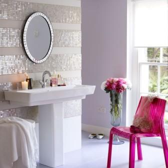 Salle de bains design pas cher baignoire douche for Carrelage pour salle de bain pas cher