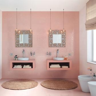 Salle de bains design pas cher baignoire douche carrelage pas cher design - Salle de bain originale et pas chere ...