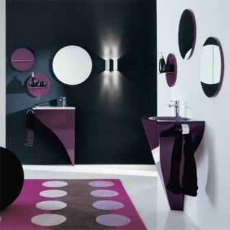 salle de bains design pas cher !!! baignoire douche carrelage pas ... - Meuble Salle De Bain Design Discount