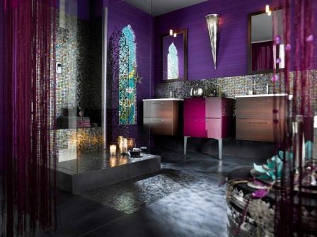 Salle de bains design pas cher baignoire douche for Salle de bain de reve