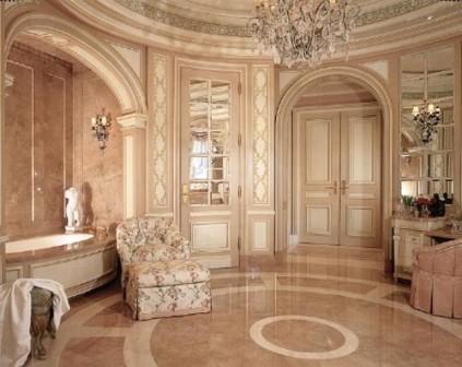 Salle de bains design pas cher baignoire douche carrelage pas cher design pour salle de bains - Salle de bain luxe design ...