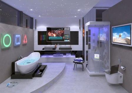 salle de bains design pas cher baignoire douche carrelage pas cher design pour salle de bains. Black Bedroom Furniture Sets. Home Design Ideas