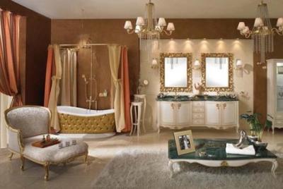 salle de bains design baignoire douche carrelage pas cher