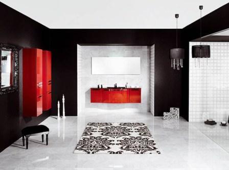 Salle de bains design pas cher baignoire douche for Salle de bain ultra design