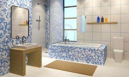 Salle de bains design pas cher baignoire douche for Salle de bains design luxe