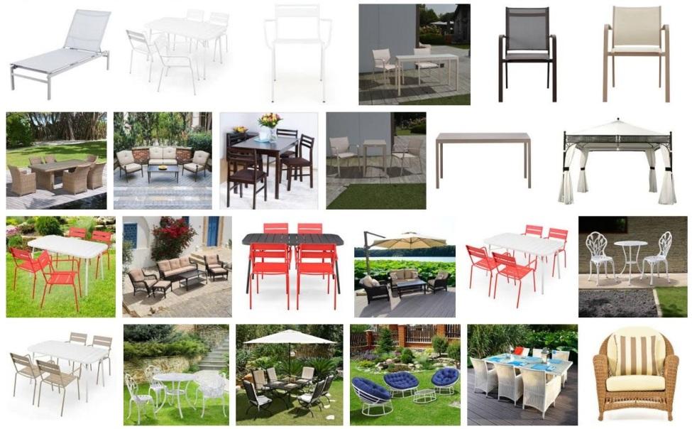 SALON DE JARDIN DESIGN PAS CHER !!! Table et chaise en ...