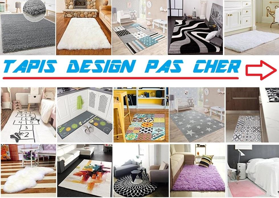 Tapis design pas cher tapis salon contemporain meubles - Vente de tapis pas cher ...