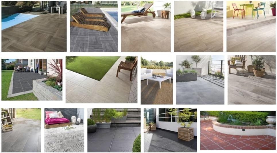 Terrasse en bois composite ou exotique design pas cher for Carrelage exterieure pas cher
